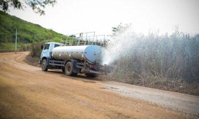 Após ganhar novo revestimento, via em São Joaquim tem trânsito liberado