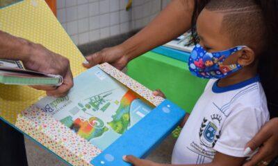 Pré escola da rede municipal de Cachoeiro ganha material didático inédito