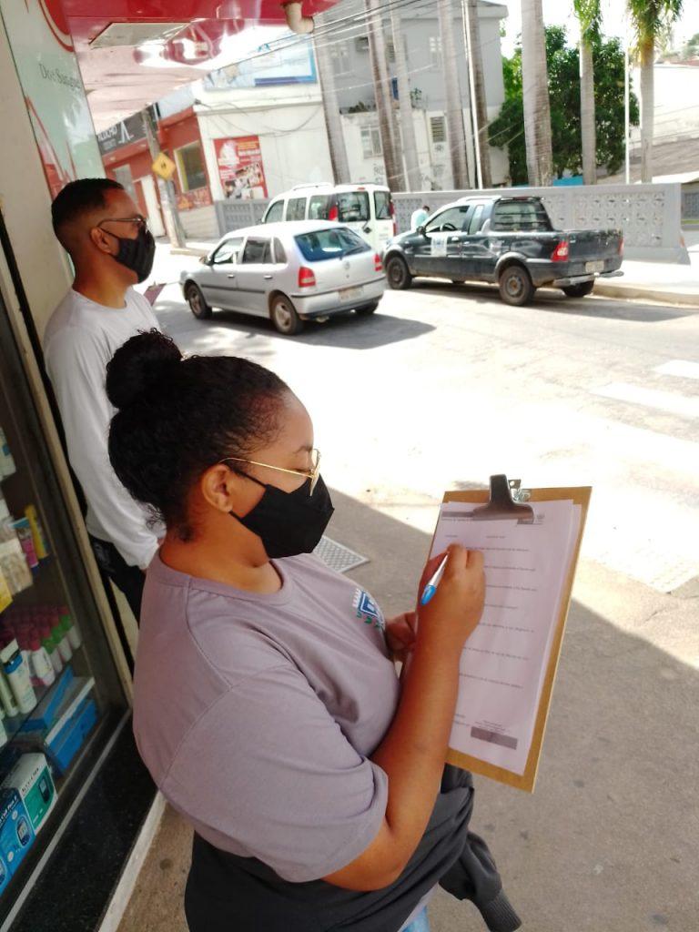 Prefeitura realiza ação de conscientização sobre uso obrigatório de máscara