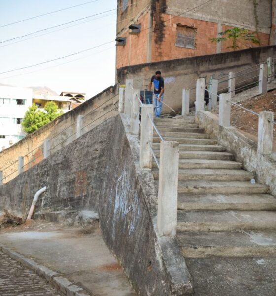 Mais duas escadarias de Cachoeiro vão receber melhorias