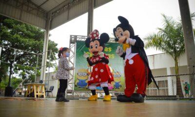 Dia das Crianças teve diversão e atividades educativas na Pracinha da Cultura